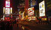 USA;New York; New York City;Time Square; night time